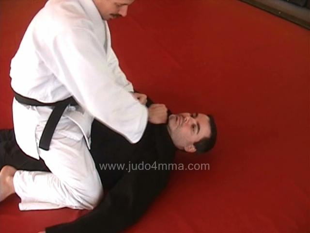 Click for a video showing a traditional Judo technique called Tsukkomi Jime - Thrusting Choke
